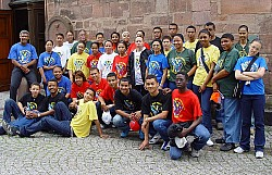 2004 Tour group in Gernsbach, Germany